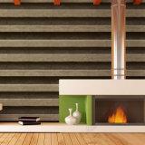 Het populaire 3D Behang van het Ontwerp van de Steen van pvc van de Decoratie van het Huis Vinyl Waterdichte