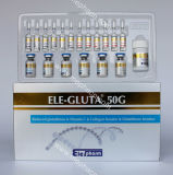 injection de 50g Gluta pour le blanchiment de peau