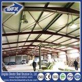 Подгонянный полуфабрикат/Prefab металл строя рамку промышленного сарая стальную