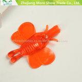 Dos brinquedos pegajosos macios do assobio dos miúdos da venda por atacado assobio plástico para o presente da promoção
