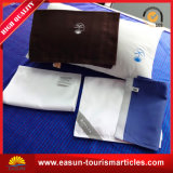 Funda de almohada no tejida blanca del aeroplano para la aviación