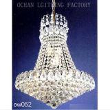 Традиционный античный классицистический роскошный серебряный кристаллический светильник канделябров для японского трактира Ow146