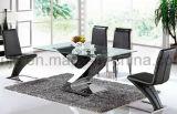 居間の家具の特別なデザインガラスダイニングテーブル(A6033#)