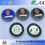 capo motor de la fibra del carbón de 68m m y divisa trasera del emblema de Saab de la insignia del coche