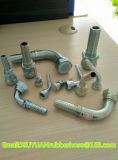 Ajustage de précision hydraulique de boyau en caoutchouc flexible à haute pression en gros