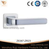 등록 문 기계설비 아연 합금 Zamak 자물쇠 래치 손잡이 (Z6327-ZR23)