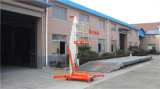 6m hydraulische Mast-Luftarbeit-Aufzug-Aluminiumplattform (GTWY6-100SB)