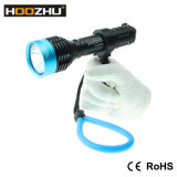 Hoozhu D10のクリー語LED最大900lmはダイビングライトのための100mを防水する