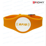 Wristband ambiental do silicone de MIFARE S50 RFID NFC