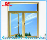 Glazing doble Aluminum/Aluminium Casement Tilt y Turn Windows (KDST035)