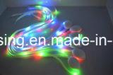 Cinta de zapatos Shinning del LED para el cordón del baile