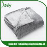 Cobertor cinzento geral ao ar livre morno de pouco peso popular de Microfiber