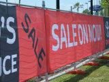 Изготовленный на заказ напольное знамя сетки загородки PVC печатание полного цвета высокого качества