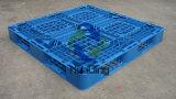 pallet di plastica accatastabile di bassa potenza di prezzi bassi 1100X1100 da vendere