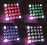 Lumière principale mobile de matrice du matériel 25PCS DEL du DJ
