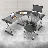 Cadeira de escritório de malha ergonômica com costas altas