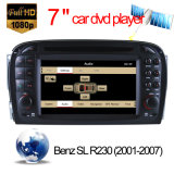 Car Multimedia für Mercedes Benz SL R230: 2001-2007 DVD GPS TMC mit Zacken