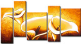 Peinture à l'huile abstraite - 0101
