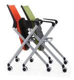 前部折りたたみ式テーブルが付いている講議椅子