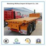 Aanhangwagen van de Stortplaats van de Vrachtwagen van de stortplaats Flatbed van Semi Aanhangwagen van China