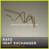 Cambista de calor de cobre personalizado da bobina