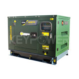 Поколение комплекта 6kw одиночной фазы генератора топлива Keypower низкое тепловозное производя сверхмощное