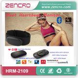 La gymnastique Bluetooth de forme physique la plus neuve de Zencro et la courroie de poitrine de fréquence cardiaque d'Ant+ avec l'identification