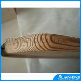 Placa de pão antiga do queijo da madeira de pinho 6 polegadas