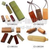 De houten Aandrijving van de Flits USB (REEKS ci-UW)