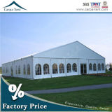 優雅な正方形の管の一義的で贅沢な200人党玄関ひさしのテント