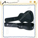 Caja hueco preponderante de la guitarra de la carrocería, caso para acústico