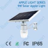 9W im Freien Solarapple helles integriertes Solargarten-Licht (Solarheißer Verkauf des mondlichtes)