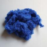 Azul real sólido de la fibra de grapa de poliester