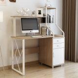 Mesa de madeira do computador com Hutch