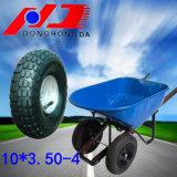 Fabricante profesional 10 * 3,50-4 carretilla neumático de ruedas de goma