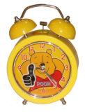 Horloge d'alarme en plastique de Bell (KV2045)