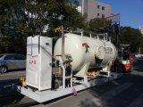 Terminar a solução para o patim de enchimento do LPG
