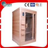1800W sitio casero de la sauna del vapor de la persona del infrarrojo lejano 2