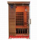 Sauna en bois portatif de pièce de sauna d'infrarouge lointain pour 2 personnes (SEK-D2)