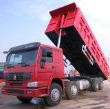 Sinotruck HOWO 8*4 덤프 트럭 팁 주는 사람 트럭