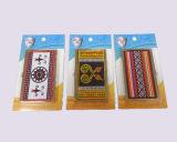 Изготовленный на заказ держатель визитной карточки - покрынное золото - искусствоо Тайвань аборигенное