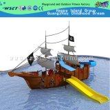 De madeira do Aqua Casa Playground para Water Park (A-06202)