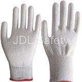 Couper le gant résistant de travail de sûreté enduit de l'unité centrale (PD8021)