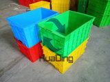 Multi Gekleurde Plastic Fruil en de Plantaardige Kratten van het Netwerk van de Distributie
