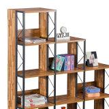 Nuevo estante del almacenaje del paso de progresión del cubo para Ministerio del Interior en material de madera