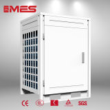 Pompa de calor industrial de la fuente de aire para la agua caliente de 80 DEG C