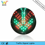 Custom 200mm Red Cross Green LED Module Traffic Light
