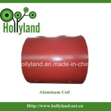 Revestido & gravou a bobina de alumínio (HLA1012)
