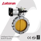 Клапан-бабочка цемента Dn100 Dn200 Dn300 с пневматическим приводом