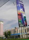 Côté de double de drapeau de câble de Blockout Frontlit imprimable
